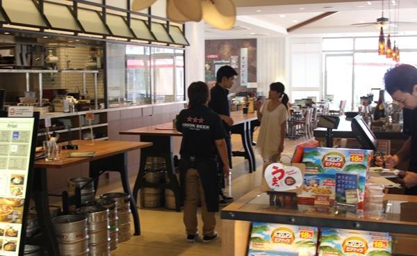 ライカム オリオンビール カフェ 書店3